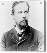 Henry James, American-born British Acrylic Print