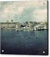 Historic Fox River Mills Acrylic Print