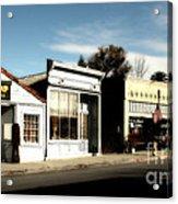 Historic Niles District In California Near Fremont . Main Street . Niles Boulevard . 7d10676 Acrylic Print