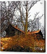 House On The Hill Acrylic Print by Joyce Kimble Smith