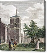 Independence Hall, 1799 Acrylic Print