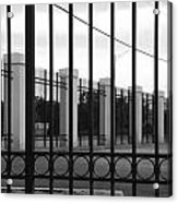 Iron And Pillars Acrylic Print