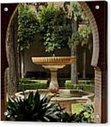 Islamic Fountain Acrylic Print