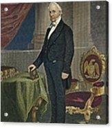 James Buchanan (1791-1868) Acrylic Print