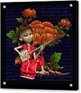Japanese Woman Acrylic Print