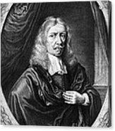 Johannes Hevelius, Polish Astronomer Acrylic Print by Science Source
