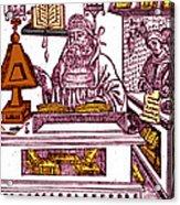John Peckham, Anglican Theologian Acrylic Print