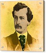 John Wilkes Booth, American Assassin Acrylic Print