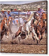 Jordan Valley Arena Action 2012 Acrylic Print