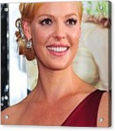 Katherine Heigl At Arrivals For Life As Acrylic Print