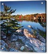 Lake George At Killarney Provincial Park In Fall Acrylic Print