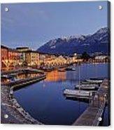 Lake Maggiore - Ascona Acrylic Print