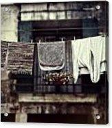 Laundry Acrylic Print by Joana Kruse