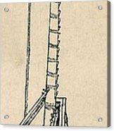 Leonardo Da Vincis Lifting Gear Acrylic Print by Science Source