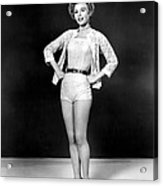 Lets Be Happy, Vera-ellen, 1957 Acrylic Print by Everett