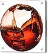 Liquid Sphere Acrylic Print