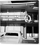 Lorraine Hotel Site Of The Murder Of Martin Luther King Now The National Civil Rights Museum Memphis Acrylic Print
