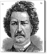 Louis Riel (1844-1885) Acrylic Print