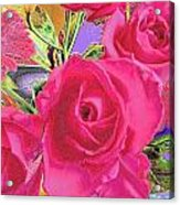 Love Roses Acrylic Print
