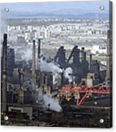 Magnitogorsk Iron And Steel Works Acrylic Print