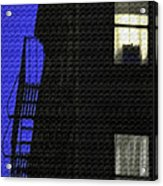 Manhattan After Dark Acrylic Print