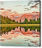 Matheson Lake Acrylic Print by MotHaiBaPhoto Prints