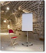 Meeting Rooms Vaulted Ceilings Acrylic Print by Jaak Nilson