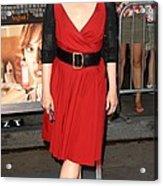 Meryl Streep At Arrivals For Julie & Acrylic Print