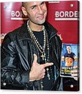 Mike The Situation Sorrentino Acrylic Print by Everett