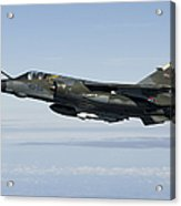 Mirage F1cr Of The French Air Force Acrylic Print
