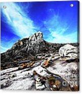 Mount Kinabalu Acrylic Print