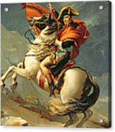 Napoleon Crossing The Alps On 20th May 1800 Acrylic Print