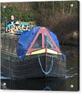 Narrowboat Acrylic Print