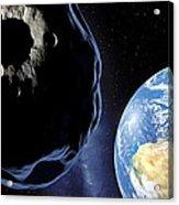 Near-earth Asteroid, Artwork Acrylic Print