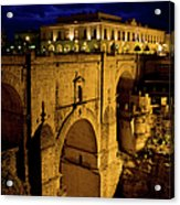 New Bridge In Ronda Acrylic Print