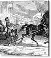 Nicholas I (1796-1855) Acrylic Print