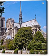 Notre Dame Cathedral Paris France Acrylic Print