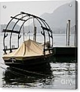Old Fishing Boat Acrylic Print