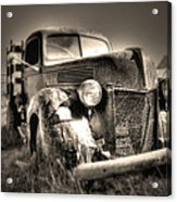 Old Truck At Bodie Acrylic Print