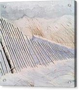 On Sheepshead Bay Acrylic Print by Don F  Bradford