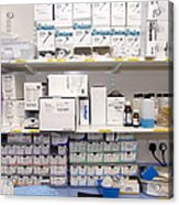 Operating Theatre Supplies Store Acrylic Print