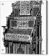 Organ, 19th Century Acrylic Print