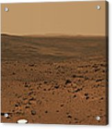 Panoramic View Of Mars Acrylic Print