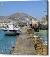 Paros - Cyclades - Greece Acrylic Print