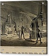 Paterson Iron Company Acrylic Print by Everett
