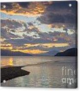 Pend Oreille Sunset Acrylic Print