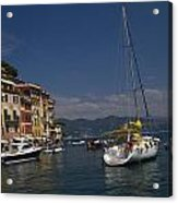 Portofino In The Italian Riviera In Liguria Italy Acrylic Print