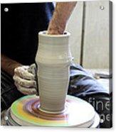 Pottery Wheel, Sequence Acrylic Print