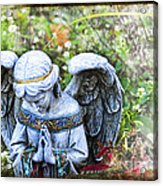 Pray Acrylic Print