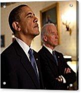 President Obama And Vp Biden Acrylic Print